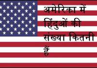 hindu population in USA