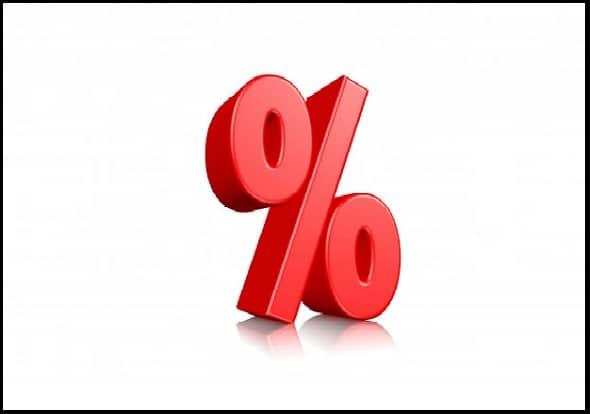 Percentage का उपयोग