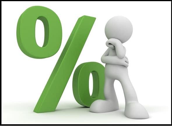 Percentage निकालने का तरीका